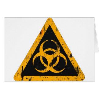 Bio Hazard Card