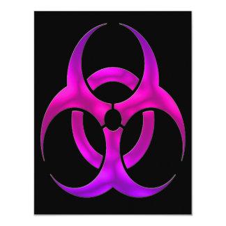 Bio Hazard Electric Purple Announcements