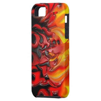 Bio Hazard Flames iPhone 5 Case-Mate Tough