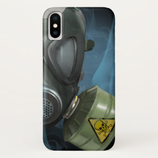 Bio Hazard Gasmask Iphone iPhone X Case