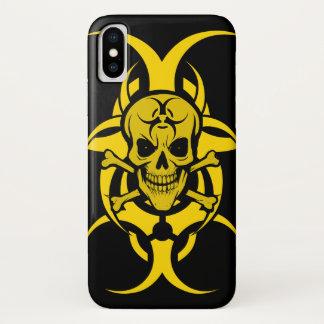 Bio Hazard Grinning Skull Phone Case