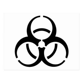Bio Hazard Icon! Postcard