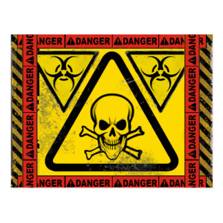 Bio Hazard Post Card