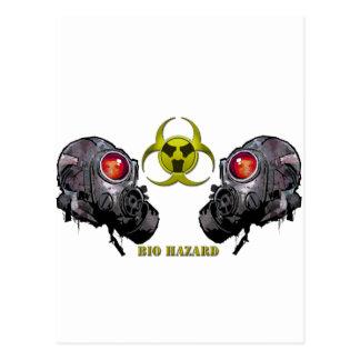 Bio hazard postcard
