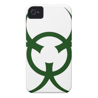 Bio Hazard Symbol iPhone 4 Covers