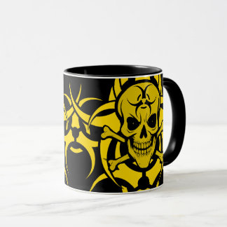 Bio Hazard Tribal Mug