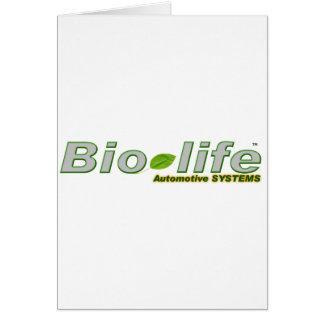 Bio-Life logo no backgrnd Greeting Card