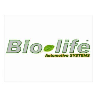 Bio-Life logo no backgrnd Postcard