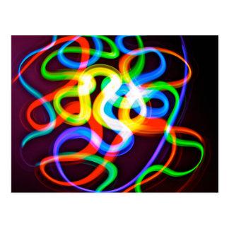 Bio-luminescent Worms Postcard