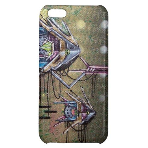 bio mechanical graffiti iphone case iPhone 5C covers