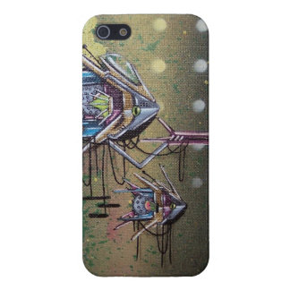 bio mechanical graffiti iphone case covers for iPhone 5