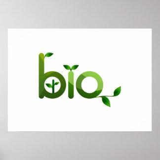 Bio Sign Poster