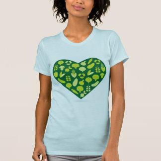 Bio vegetable Tshirt edition / Green blue