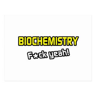 Biochemistry ... F-ck Yeah! Postcard