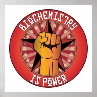 Biochemistry Is Power Poster