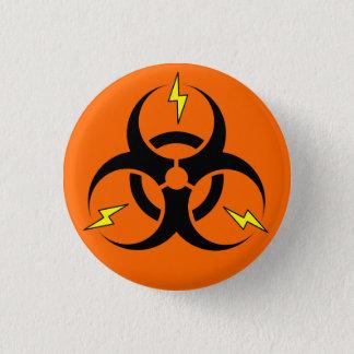 Bioelectric Hazard 1 Inch Round Button