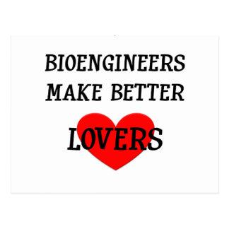 Bioengineers Make Better Lovers Postcard