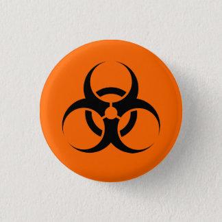 Biohazard 1 Inch Round Button