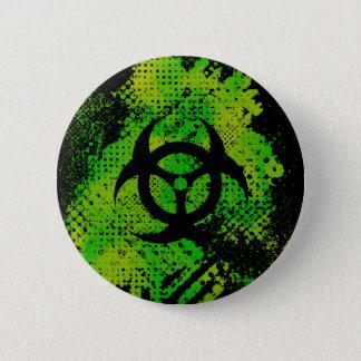 Biohazard $6.95 Collectible Art Button