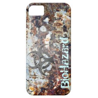 BioHazard Apocalyptic Rusted Grunge iPhone 5 Cases