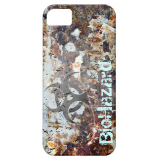 BioHazard Apocalyptic Rusted Grunge iPhone 5 Cover