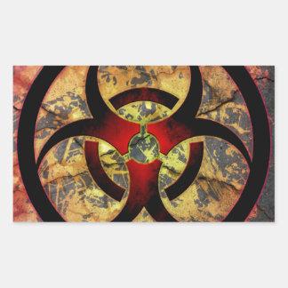Biohazard Art Design Sticker