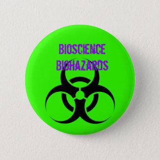 Biohazard, Bioscience Biohazards 2 Inch Round Button
