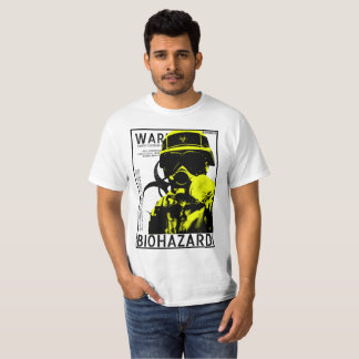 BioHazard BSL4 - Yellow poster T-Shirt