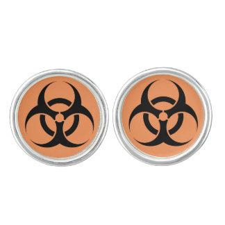 Biohazard Cufflinks