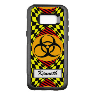Biohazard Design by Kenneth Yoncich OtterBox Commuter Samsung Galaxy S8+ Case