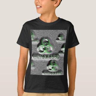 biohazard fallout contamination sign toxic green T-Shirt
