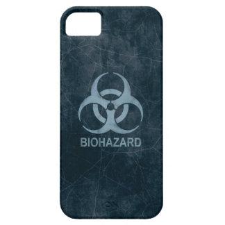 Biohazard iPhone 5 Case Blue