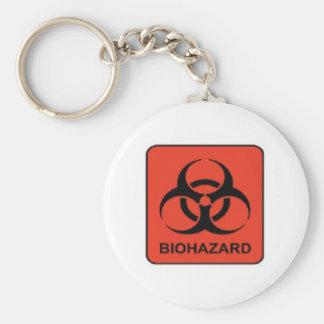 Biohazard_keychain Keychain
