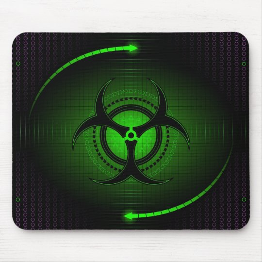biohazard mouse pad