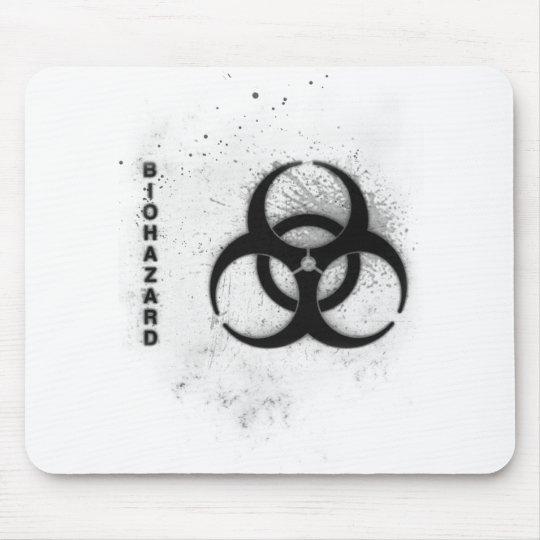 biohazard mouse pad