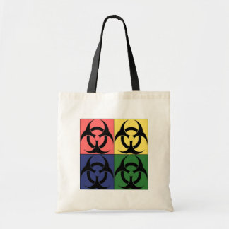Biohazard Pop Art Tote Bag