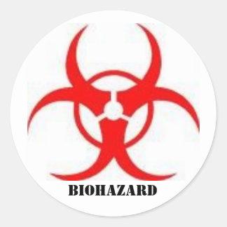 biohazard sign stickers