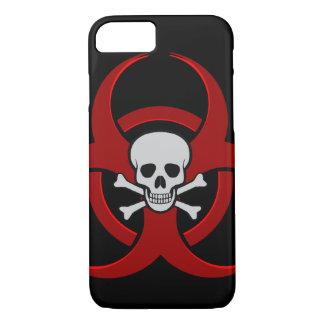 Biohazard Skull iPhone 7 Case