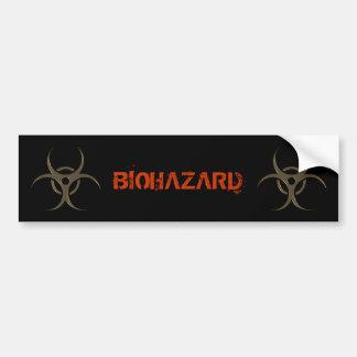 Biohazard Symbol - Bumper Sticker