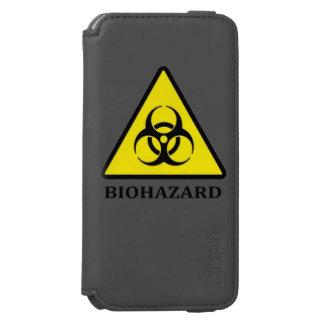 Biohazard Symbol iPhone Case Incipio Watson™ iPhone 6 Wallet Case