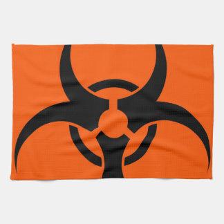 Biohazard Symbol Kitchen Towel