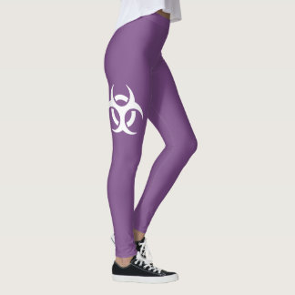 Biohazard Symbol Leggings