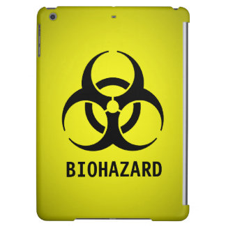 Biohazard Symbol (Yellow) iPad Air Cover