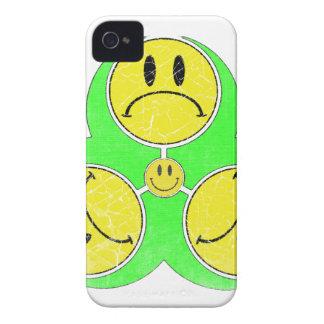 Biohazard Unhappy. iPhone 4 Case-Mate Cases