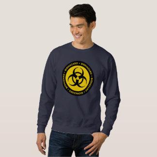 Biohazard Warning Sign Sweatshirt