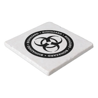Biohazard Warning Trivet