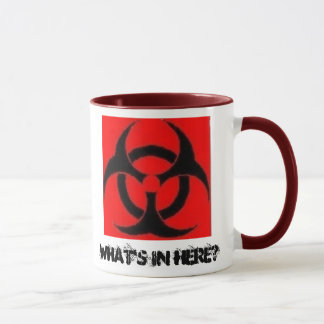 Biohazard, What's In Here? - mug