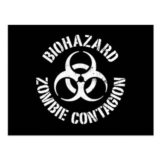 Biohazard: Zombie Contagion Postcard