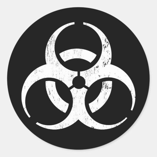 Biohazard: Zombie Contagion Sticker