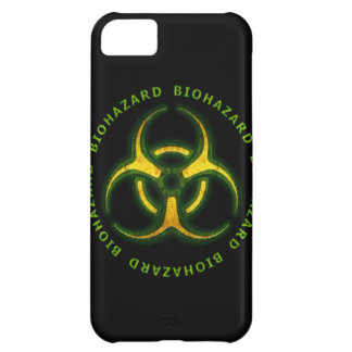 Biohazard Zombie Warning Cover For iPhone 5C